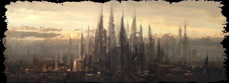future_city_speedpaint_wip_