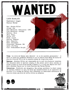 Wanted - Abraham Miller